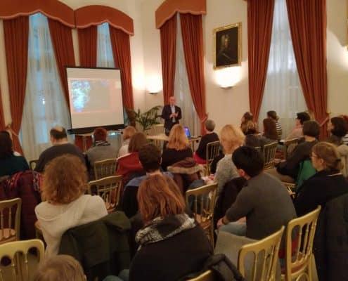 Harald G. Kratochvila Gesundes Tulln Vortrag Psychische Gesundheit und Psychische Erste Hilfe