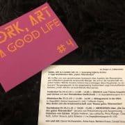Work, Art & A Good Life #4